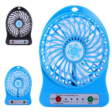 Snowflake three speed control plantain shaped mini desktop charging USB <strong>fan</strong>