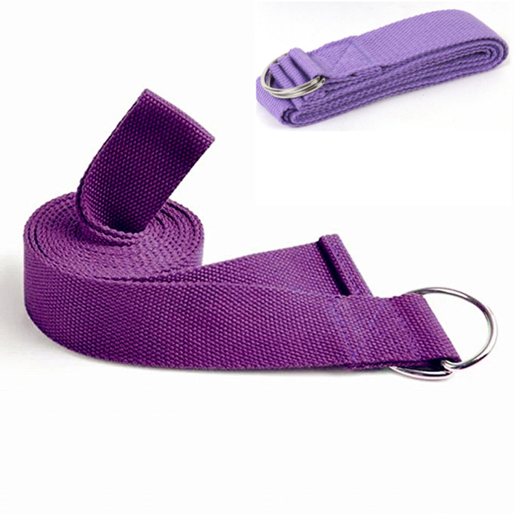 Colorful and Adjustable Stretch Band Strap D-Ring <strong>Belts</strong> Gym Waist Leg Fitness Sports Yoga <strong>Belt</strong>
