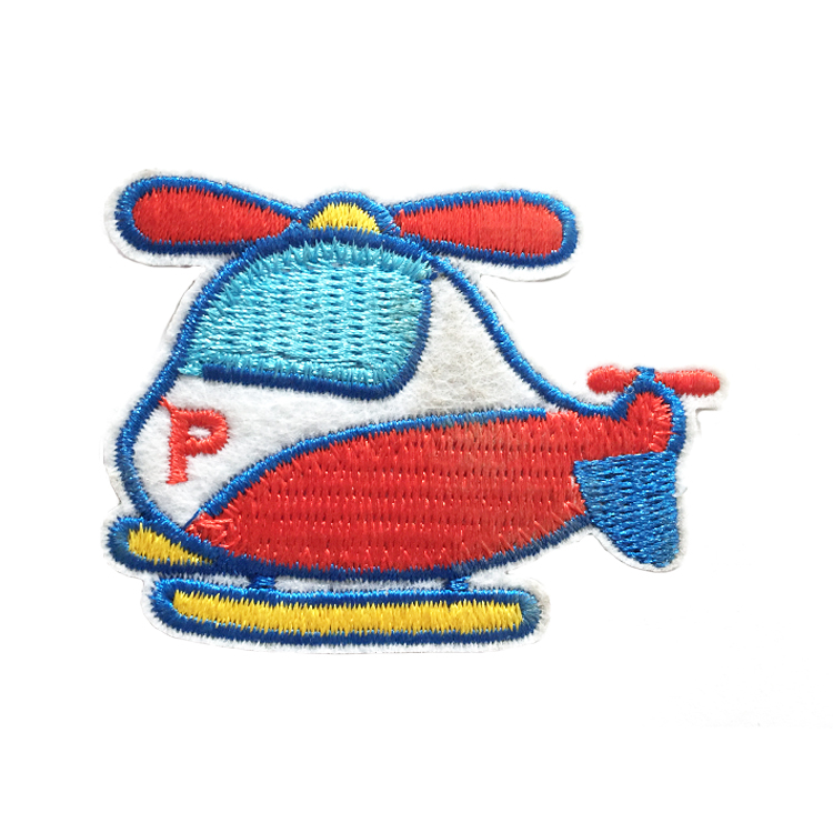 Custom Factory Hotsale Embroidered Promotional Cute Iron On Embroidery Patch