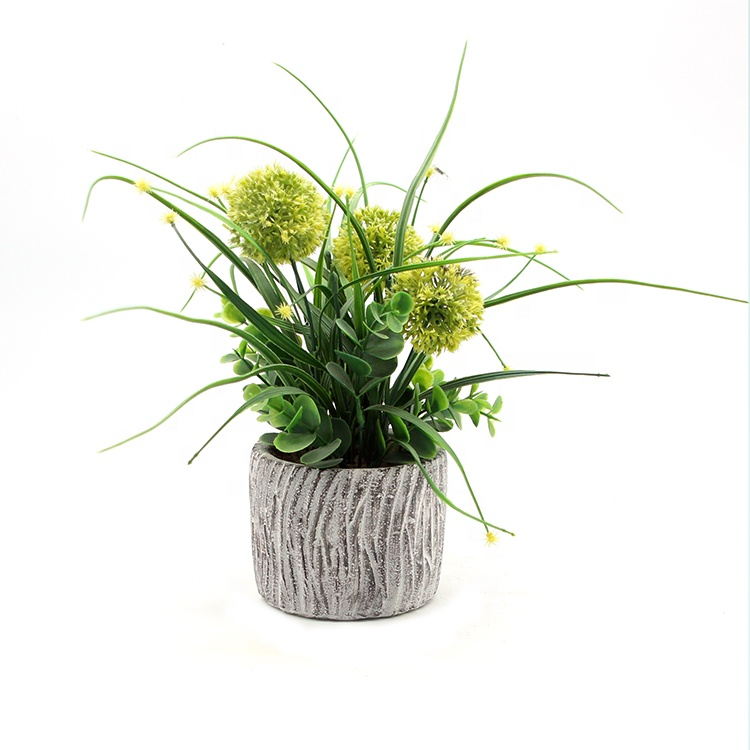 High Quality Artificial Flowers Potted In Article Pot