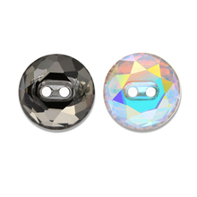 Unique <strong>designs</strong> new crystal fancy buttons pointback sew on stone K9 glass round rhinestone garment accessories