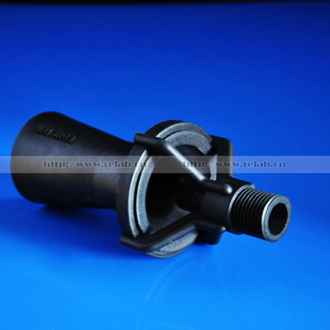 Corrosion and Temperature Resistant PVDF Plastic Jet Mixing Eductor Nozzle