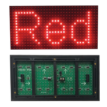 Outdoor <strong>LED</strong> Moving Sign <strong>P10</strong> Single Color 1y 1b 1w 1g <strong>1r</strong> 320*160 <strong>Led</strong> Outdoor Display <strong>Module</strong>