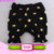 Toddler Baby Girls Ruffle Trim Shorts Boutique Solid Black Children Girls Cotton Ruffled Shorts