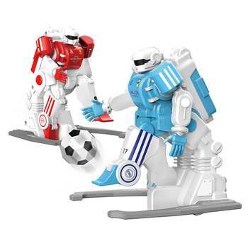 Hot selling plastic sports socooer interactive game electric radio control robot toy