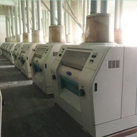 500TPD wheat semolina grain flour making machine