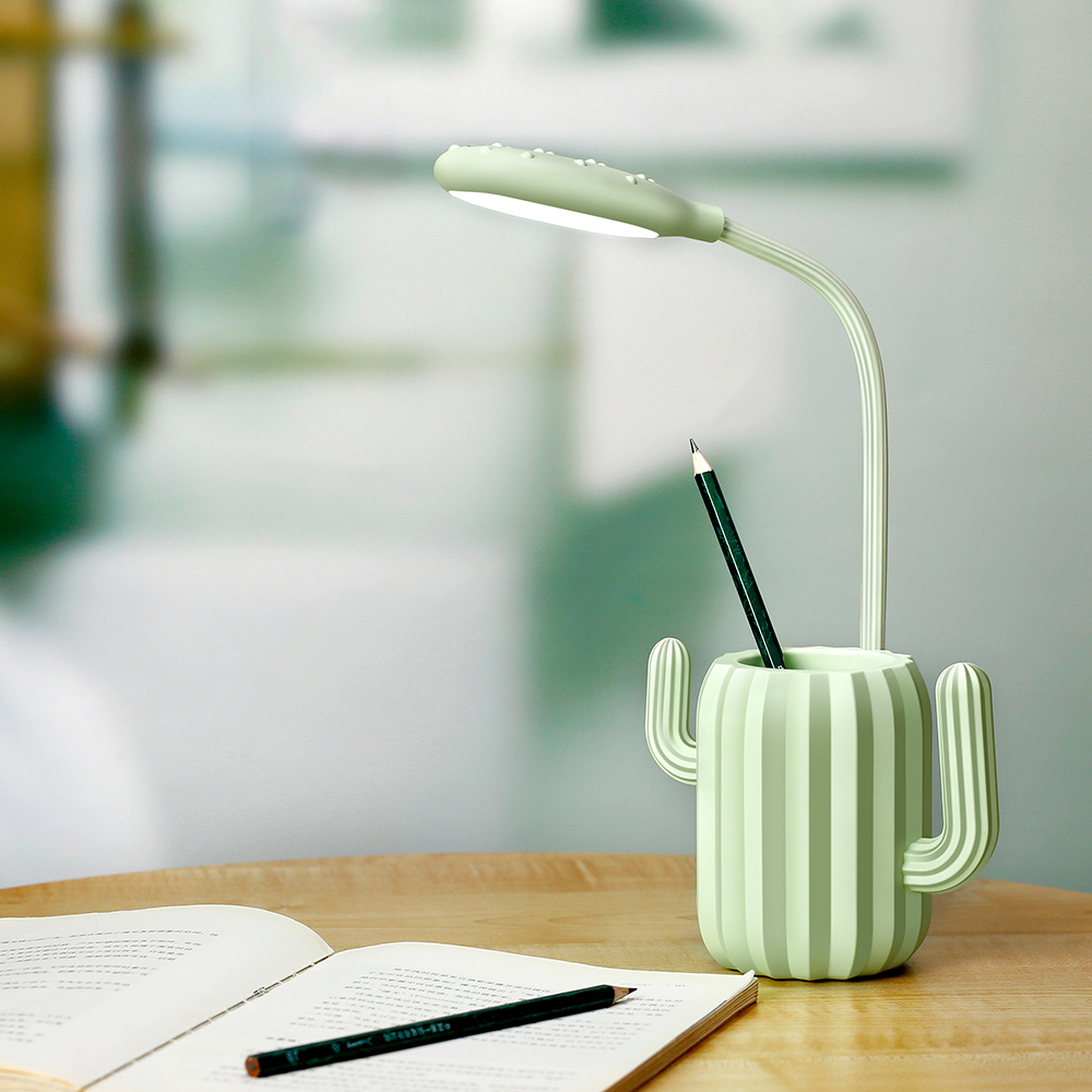 3-steps Dimmable eye <strong>protect</strong> energy saving battery chargeable with atmosphere light 360 degree twistble LED table lamp