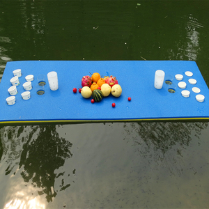 beer pong rafts floats exercise mats floating water pad with CE certificate