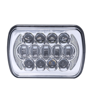 85W high/low beam truck head light 5x7 inch led headlight with DRL