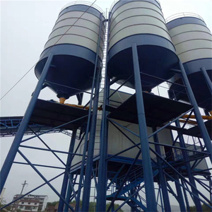 High quality quality assurance mobile cement mixer used concrete batching plant ready mix with ce