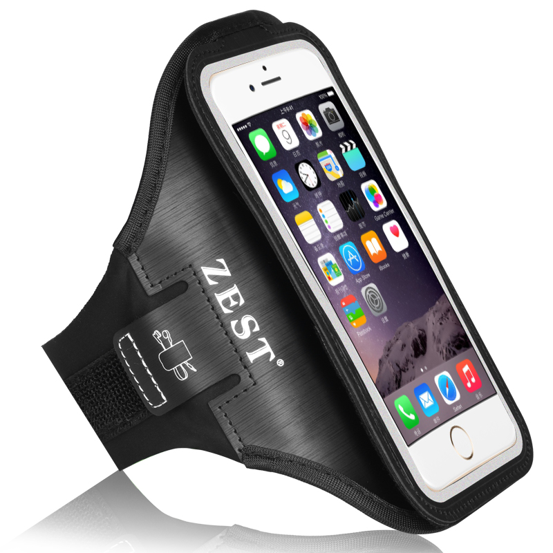 <strong>Hot</strong> selling custom logo unisex adjustable lycra sports mobile phone arm pouch