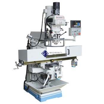 X6330A Conventional universal metal Turret Milling Machine