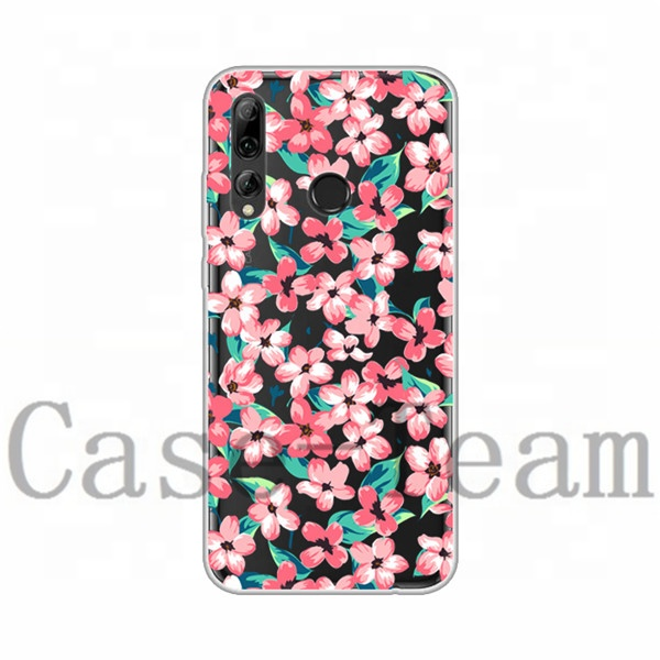 Mobile Phone Case for Huawei <strong>P</strong> Smart+ 2019, Free Shopping, Cartoon Flower Cover for Huawei <strong>P</strong> Smart+ 2019 case