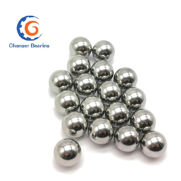 """Four 1-1//4/"""" G25 Precision 440 Stainless Steel Bearing Balls"""