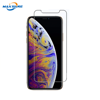 2019 Mobile Phone Accessories 9H Hardness Explosion-Proof Mobile Phone Tempered Glass For iPhone 10 X XR XS Max