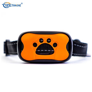 2018 Amazon Top Sell Adjustable Sensitivity Control Sound and Vibration Anti Bark Training Collar for medium and big dog