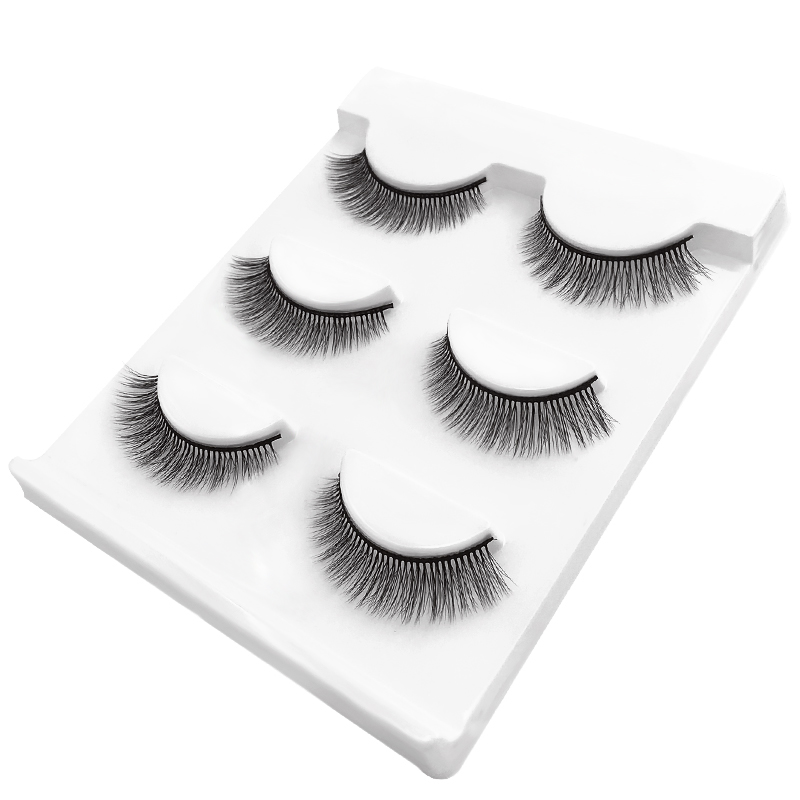 Mink Fur <strong>Material</strong> And 100Pcs Moq Custom Box With Private Label False Eyelashes