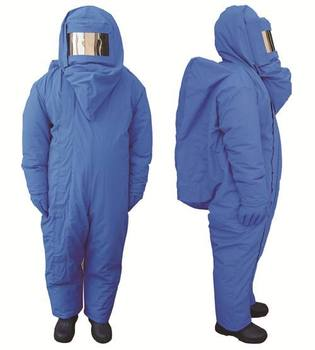 Cold Protective Clothing Liquid Nitrogen Protection Suits With Knapsack Coverall Safety Clothing For Lab