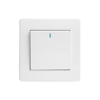 Wholesale multi-functional white wall socket and switch with light