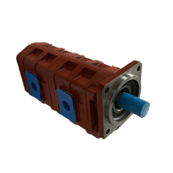 Double Hydraulic Gear Oil Pump for engineering machinery CBGJ2100/2100