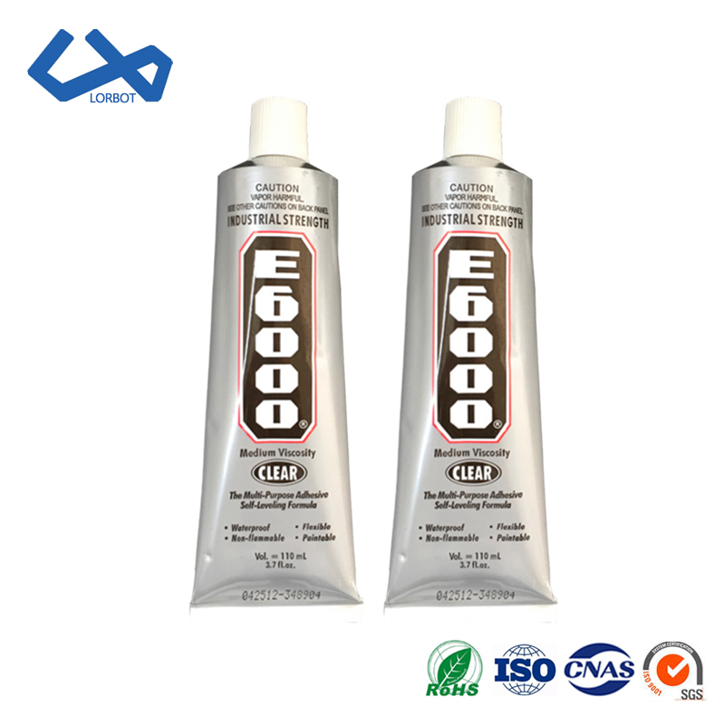 High Quality E6000 <strong>Glue</strong> 110ml Multipurpose Adhesive Epoxy Resin Diy Jewelry Fix Touch Screen <strong>Glue</strong> made in usa