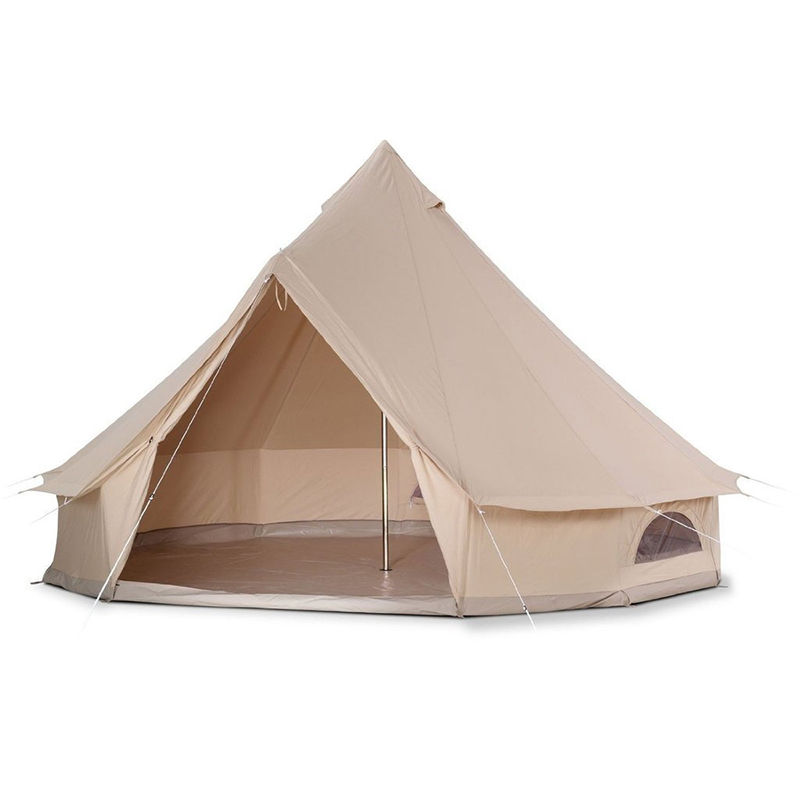 5m Heavy Duty Outdoor Luxury Cotton Canvas Glamping Bell <strong>Tent</strong>