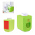 Innovative gift bathroom toilet wall-mounted plastic squeezing tube children automatic toothpaste dispenser toothbrush holder