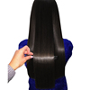 Thick healthy ends kinky straight hair, hot popular black yaki hair extensions