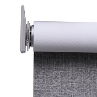 Roller Blinds Fabric Screen 28MM/38 MM Pipe Windows Curtain Roller Shade