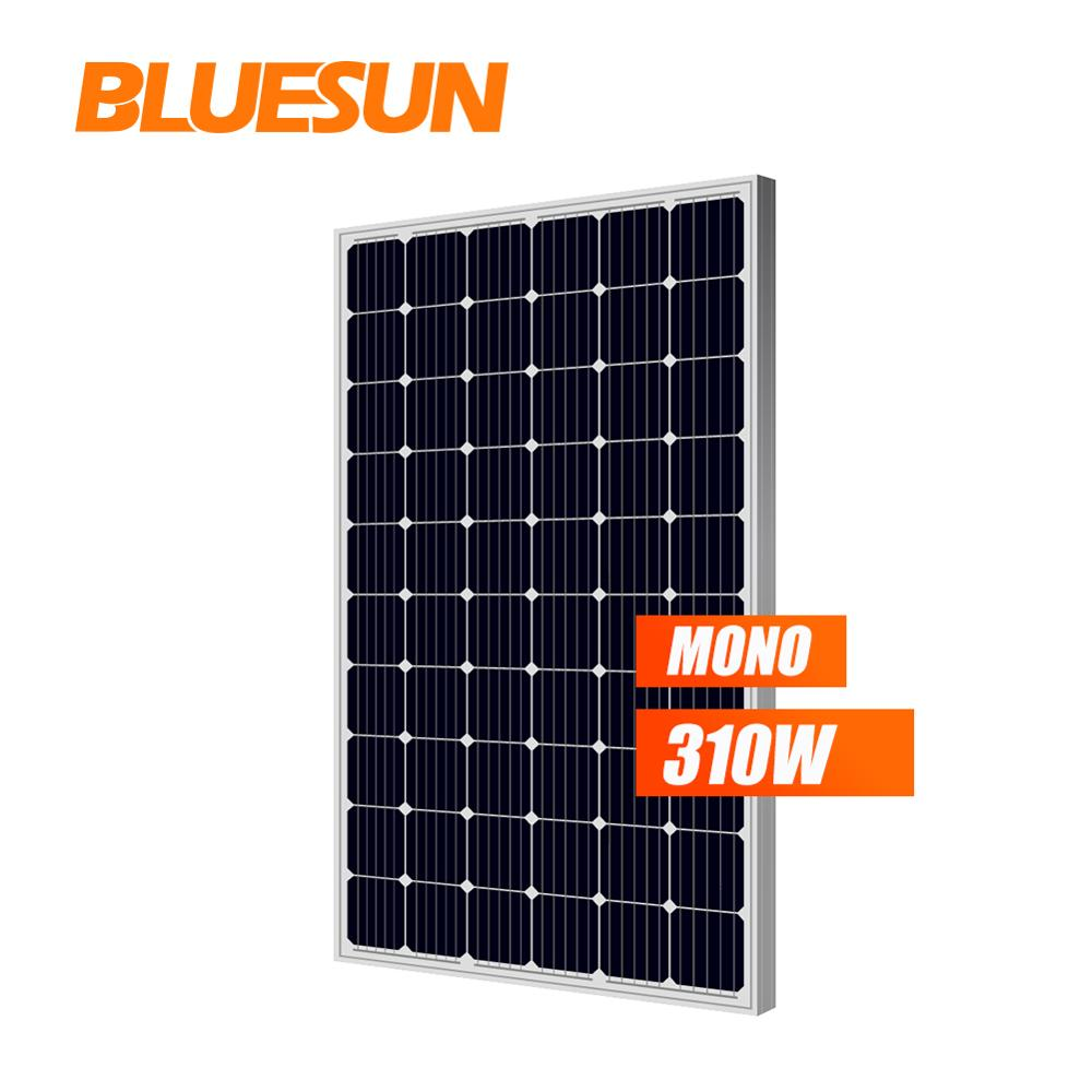 Bluesun base type attractive mono crystalline panneau solaire 300w 300 watt solar panel 300 <strong>w</strong>