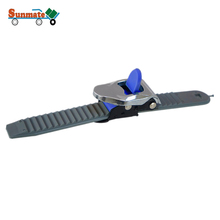 Adjustable High Quality Metal Stainless Steel Buckle Plastic Ladder Strap for Snowboard Bindings Skate Roller