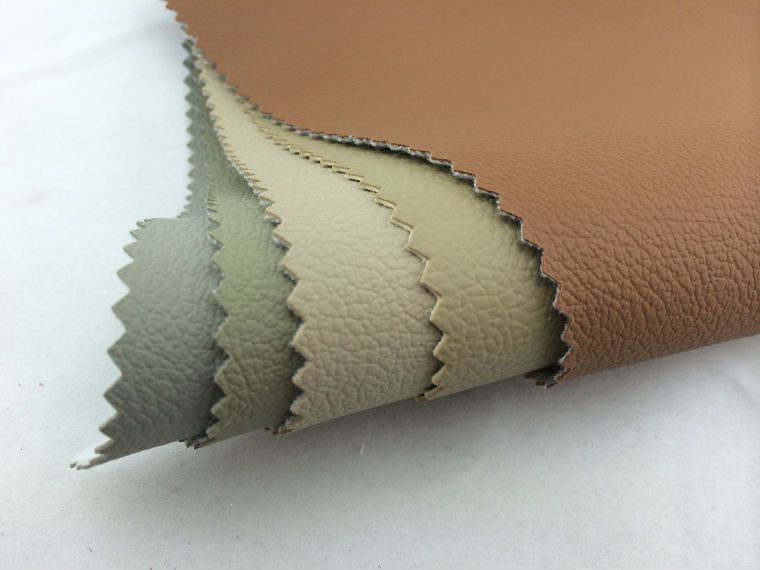 Top car seat cover polyester leather fabric