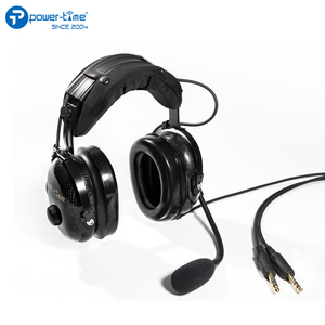 Pilot aviation anr headset for aircraft