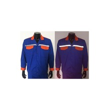 OEM Service Royal Blue &amp; <strong>Orange</strong> Reflective Work Clothes for Men