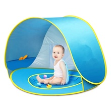 2019 waterproof Easy Up, Portable baby beach Outdoor camping <strong>tent</strong> with Carry Bag