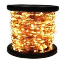 100M 1000 LED Lights Decoration Copper Wire String Light Outdoor Waterproof Fairy Lights garland For Garden Wedding Christmas