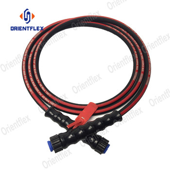 Cheap high pressure electric non marking hot 25 50 foot m22 3000 psi pressure washer hose replacement