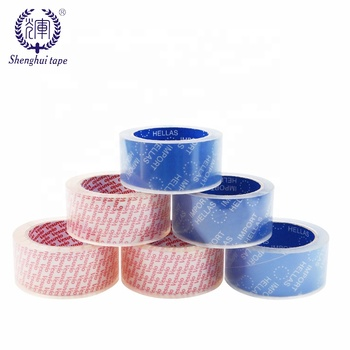 Hot Sale Custom Acrylic Adhesive Transparent Packaging Tape Crystal Super Clear Bopp Opp Package Box Tape
