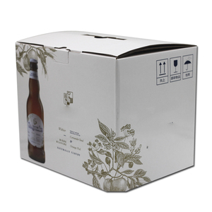 Factory Wholesale Shipping Carton Beer wine corrugated box packaging