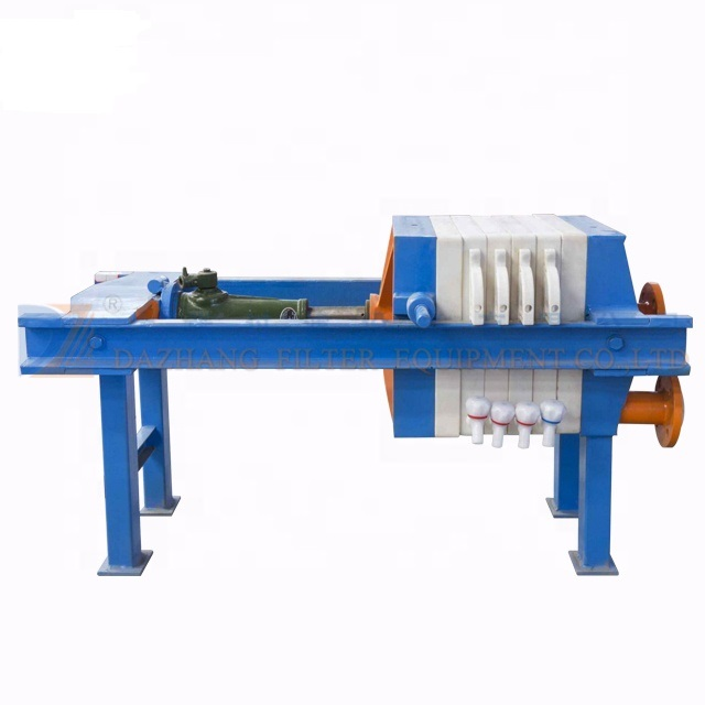 High <strong>quality</strong> manual hydraulic filter press for edible oil