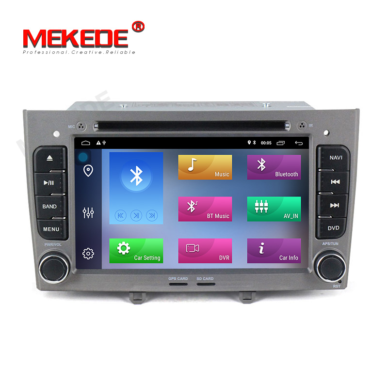 "7"" Android9.1 Quad Core 2 Din Car DVD Player for Peugeot 408 Peugeot 308 Car Audio Radio 1080P Video with CD Player 2+32GB FM/AM"