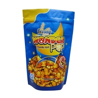 popcorn packaging plastic bags stand up pouch aluminum foil with zipper