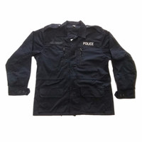 Oem Pure Navy Security Guard Police Jacket