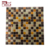 Foshan GUCI glow hot melted mosaic tile golden and amber mosaic