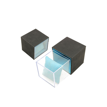 Custom PU Leather Acrylic Jewelry Gift Box
