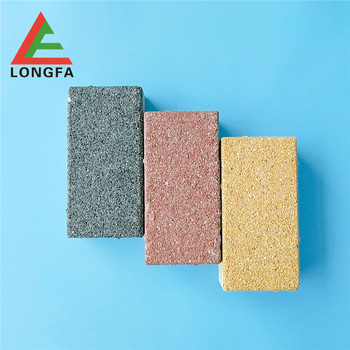Water absorbing/ non slip ceramic water permeable brick/tile