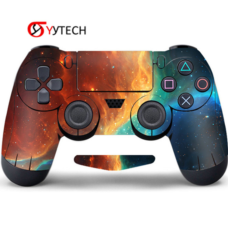 SYYTECH PVC Decal For PlayStation 4 Sticker Skin PVC Cover Sticker For PS4 Controller