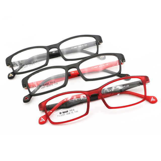 2019 Latest TR90 Kids Eyeglasses Prescription Glasses Soft Spectacle Frames for Children Wholesale <strong>China</strong> T-4007