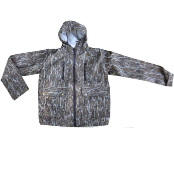 Bark camouflage suit for bird watching and hunting