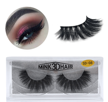 Amazon hot selling wholesale faux 3d mink eyelashes